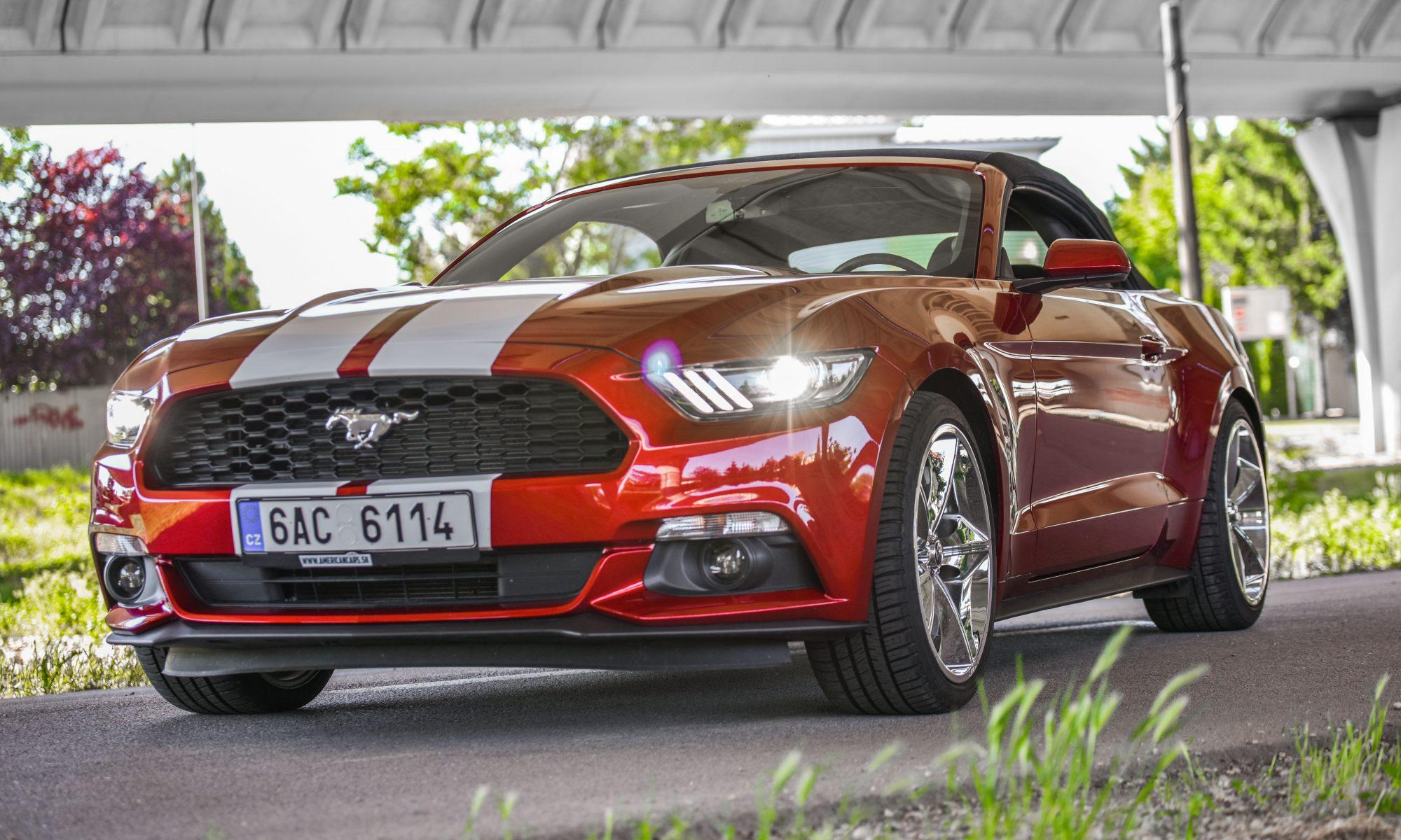 Mustang Cabrio Bratislava