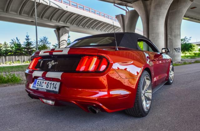 Prenájom AmericanLegends_Mustang Cabrio V6 Shelby