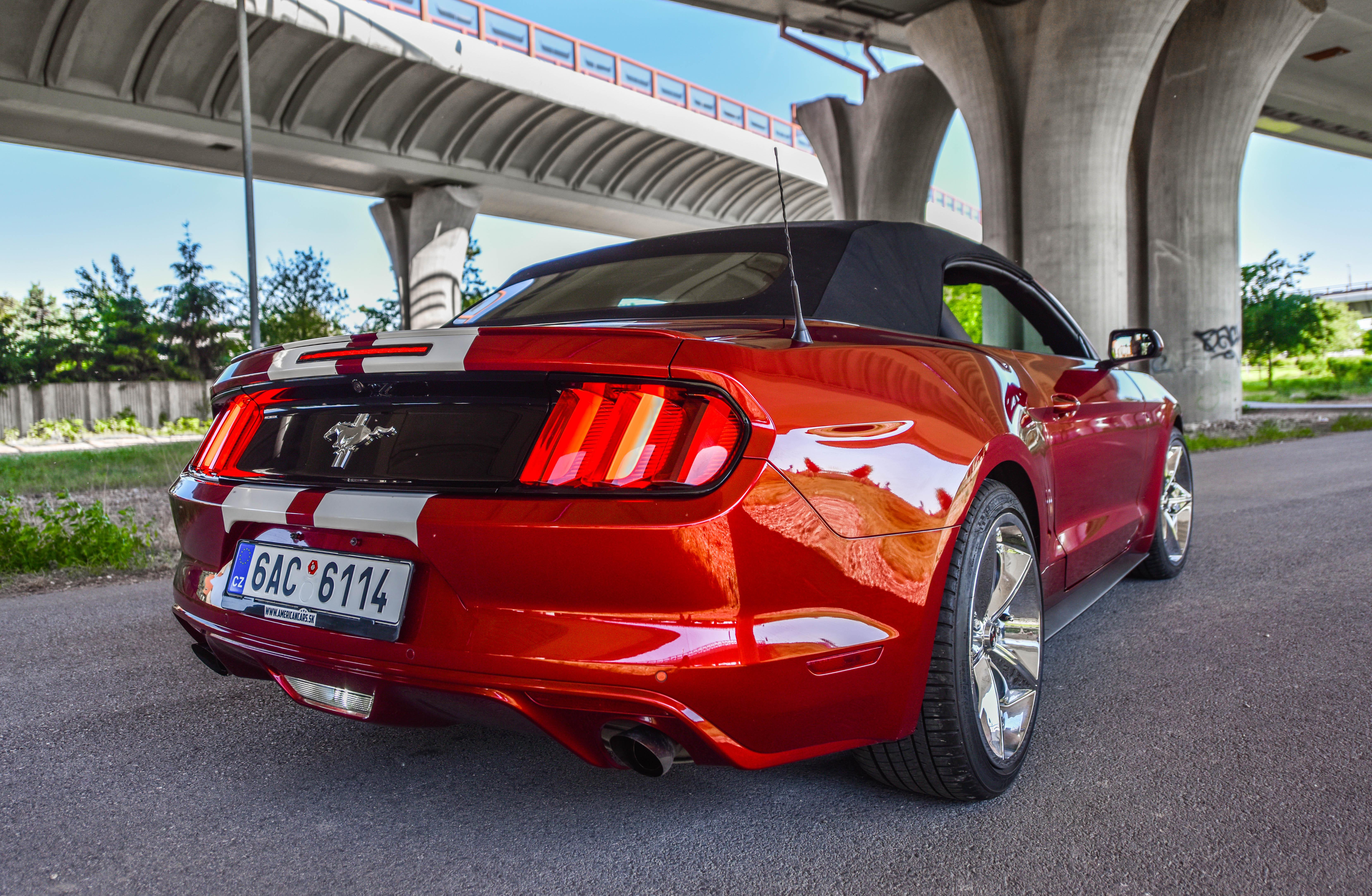 Prenájom Ford Mustang cenník