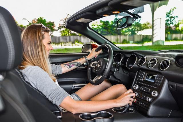 Pozicaj si ma Mustang Cabrio Shelby