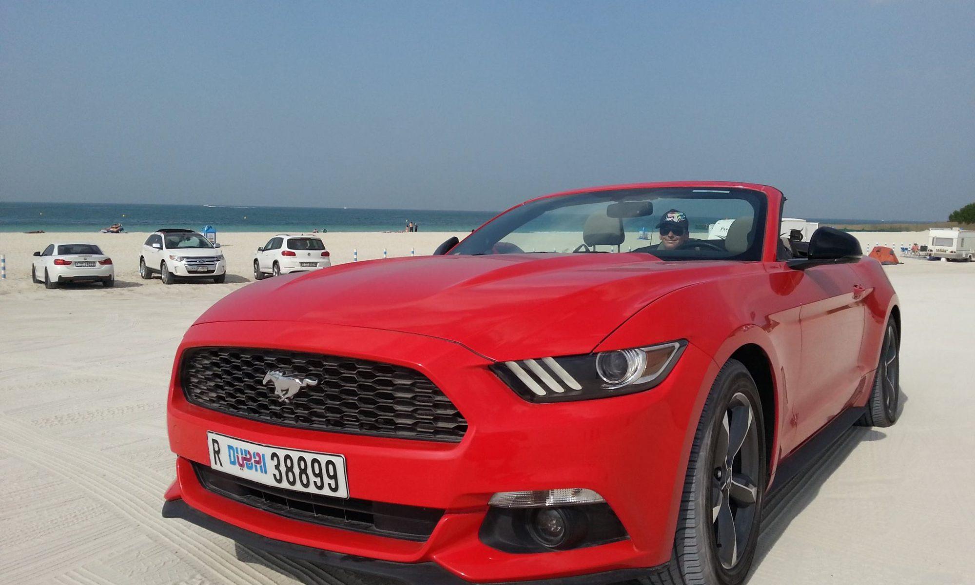 Mustang Cabrio Dubai Sloboda