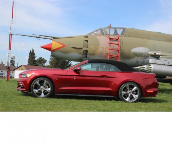 American Cars Rental Mustang Cabrio