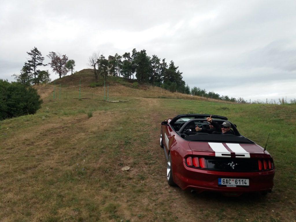 Pozicaj Mustang na Route 66 Bratislava - Dobra niva