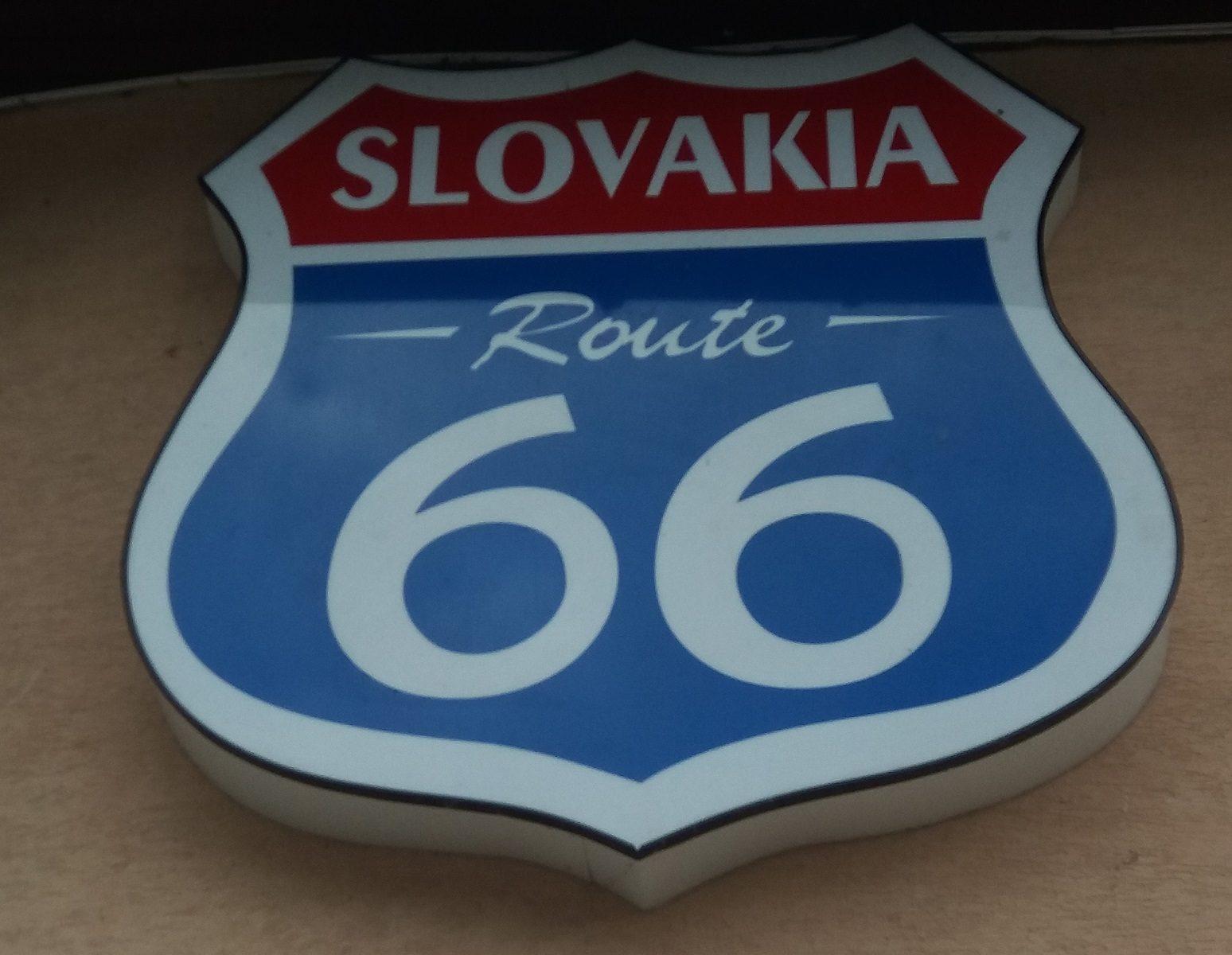 Slovakia Route 66 - Mustangom Cabrio