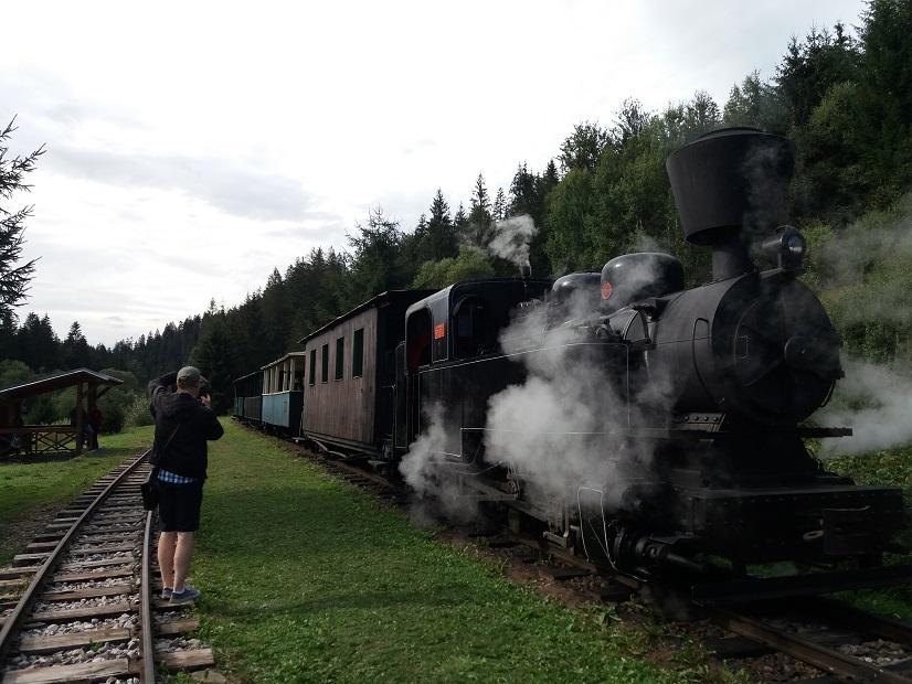 American Legends Roadtrip Železnička v Čiernom Balogu