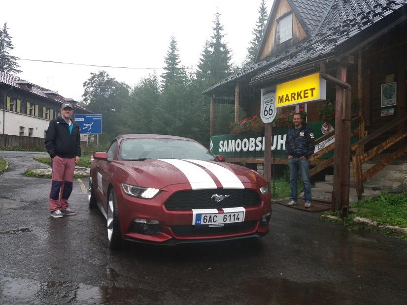 Pozicovna Mustang Bratislava Route 66