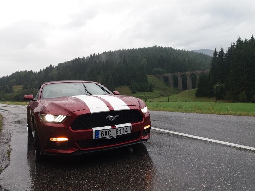 Prenájom Mustang Cabrio Telgart