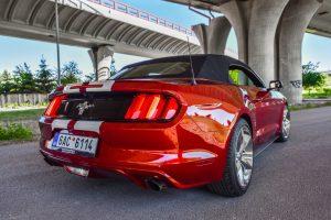 Požičovňa Mustang Cabrio