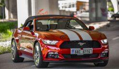 Prenájom Mustang Cabrio