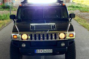 Požičovňa Hummer Bratislava AmericanLegends